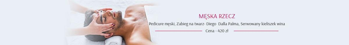 pedicure męski