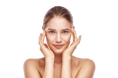 masaż skroni, zabieg PRO-XN